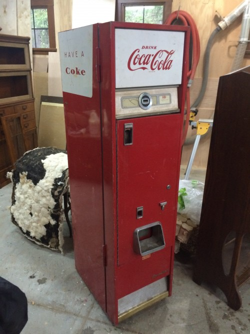 Cavalier c-55d Coke Machine 1961-63