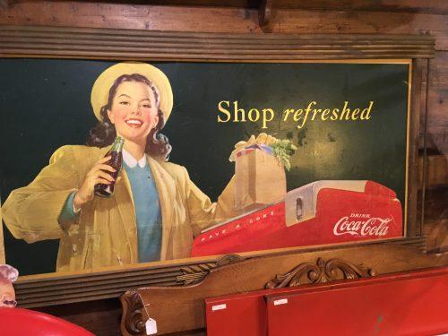 Coca Cola Sign 1948