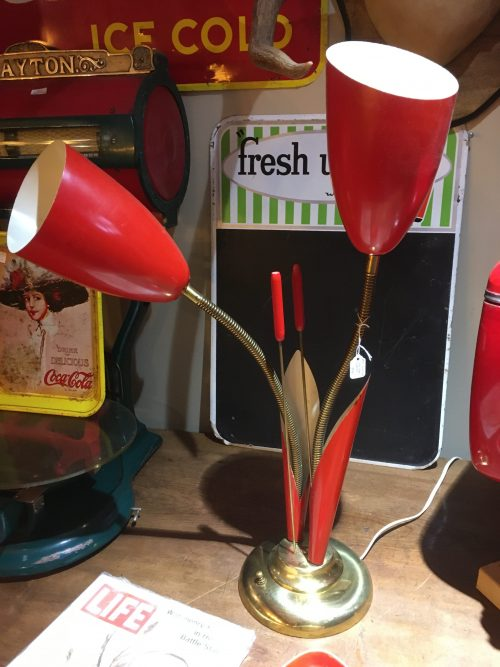 Cat Tail Lamp Mid Century