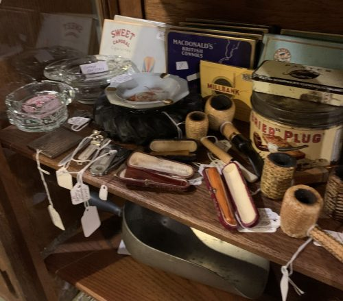 Antique/Vintage Tobacco items 1890's to the 1960's.