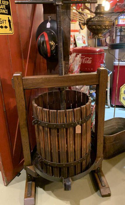 Wine Press Oak ca.1910.