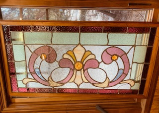 Stain glass Windows 1890-1930s.