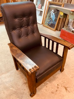 Morris Chair Recliner 1910.