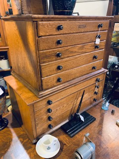 Antique Jewellers/watch repair cabinets Ca1900.