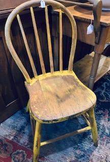 Windsor Hoop back chair ca 1840.
